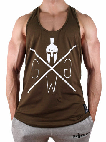 Gym Generation Flex Stringer - Khaki - Gym Generation-