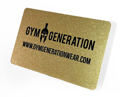 Gym Generation Gutschein - Gym Generation-