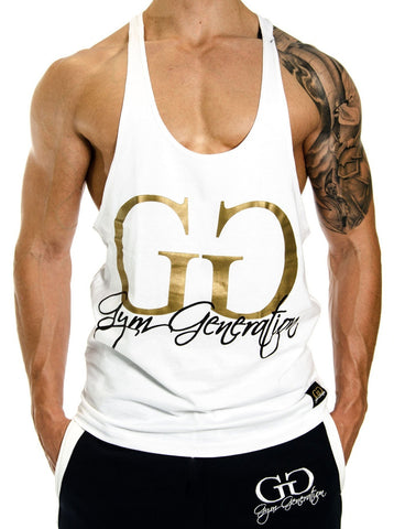 Gym Generation Stringer - Weiss - Gym Generation-