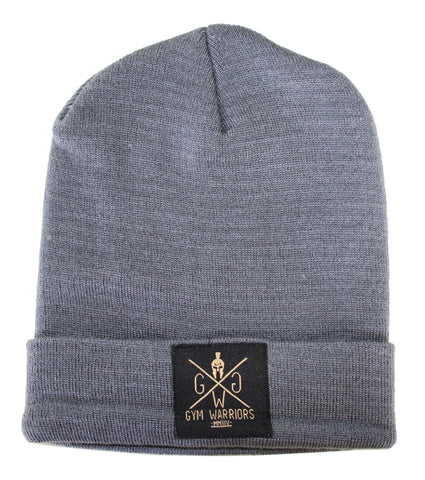Gym Warriors Beanie - Grau - Gym Generation-