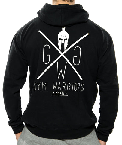 Gym Warriors Sport Hoodie - Schwarz - Gym Generation-