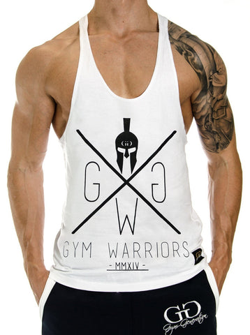 Gym Warriors Stringer - Weiss - Gym Generation-