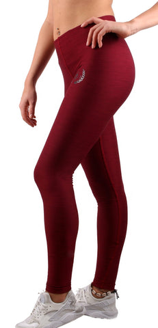 Liberty Fit Leggings - Bordeaux - Gym Generation-