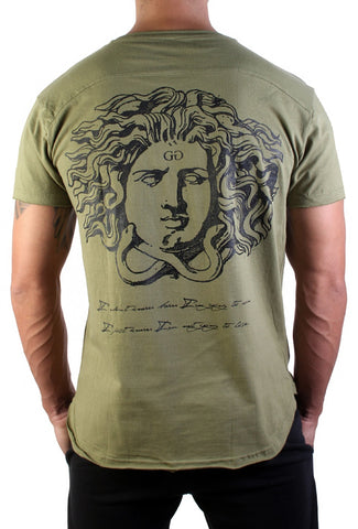 Medusa T-Shirt - Cypres - Gym Generation-