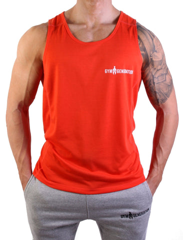 Powerboost Fitness Tank Top - Lava - Gym Generation-