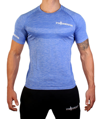Seamless Fitness Shirt - Ultra Marine - Gym Generation-