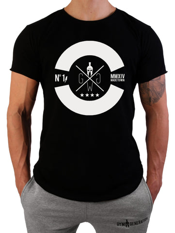 Sniper Gym T-Shirt - Schwarz - Gym Generation-