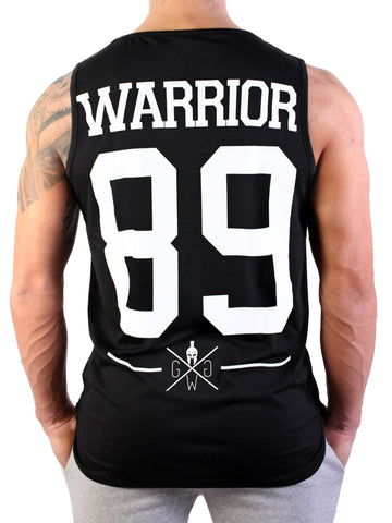 Warrior Tank Top - Schwarz - Gym Generation-