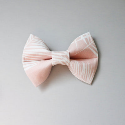 Pink Palms | Bow Tie