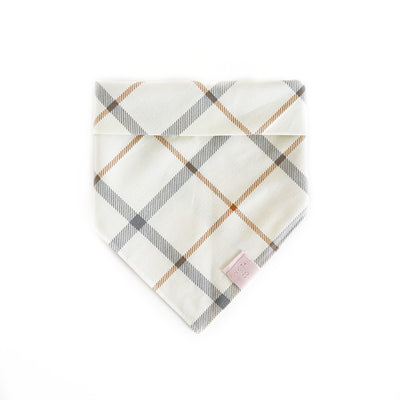 Furberry Plaid | Dog Bandana