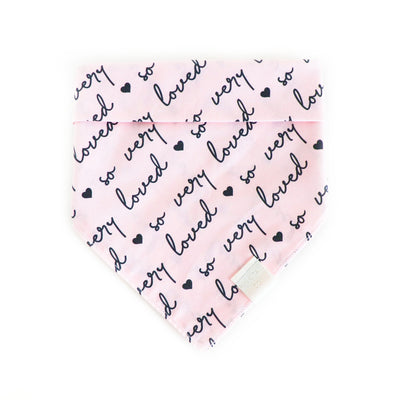 So Very Loved | Dog Bandana