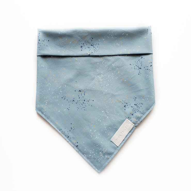 Blue Speckles | Dog Bandana