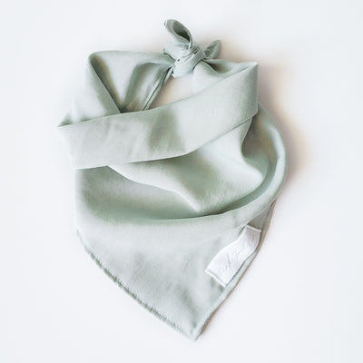 Matcha Latte | Denim Bandana
