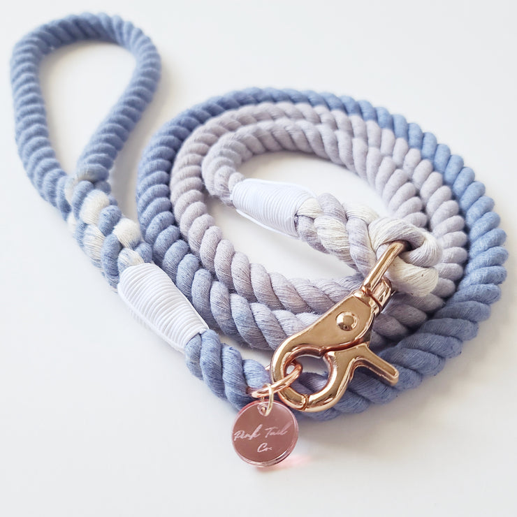 Dusty Blue | Rope Leash