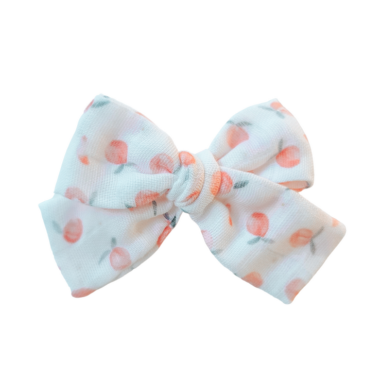 Peach Champagne | Hair Bow