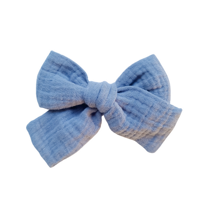 Dusty Blue | Hair Bow