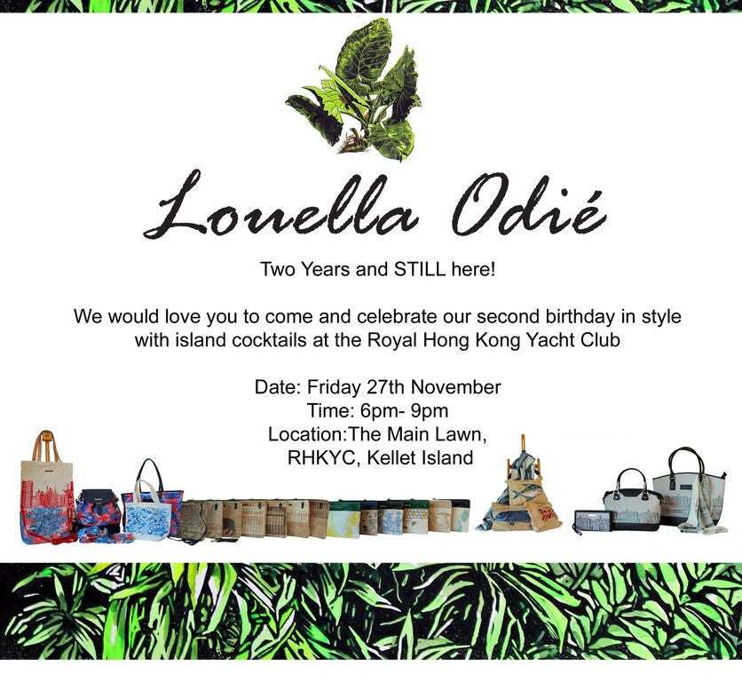 Party Time! Join us to celebrate Louella Odié's 2nd birthday!