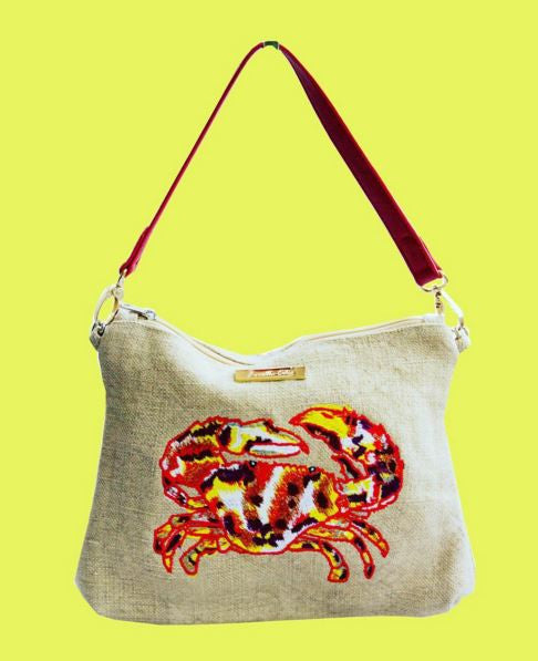 Crab Clutch Bag Louella Odie