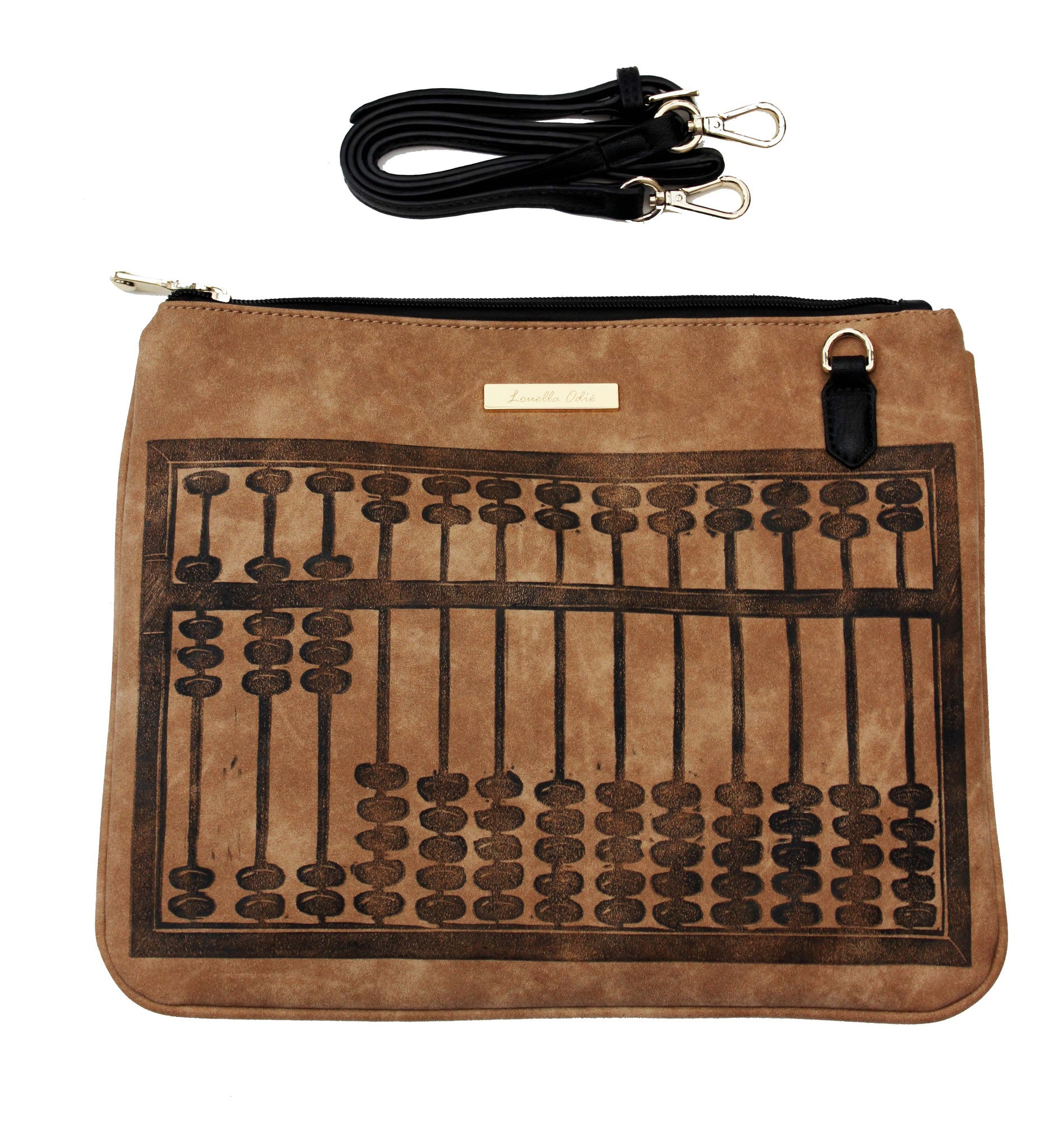 Abacus Cross-Body Bag - Nearly Black