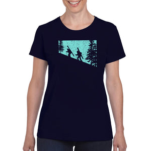 Dawn Patrol Ladies- Navy with Blue