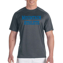 Load image into Gallery viewer, Mountain Athlete - Mens Performance Tee - Black Heather