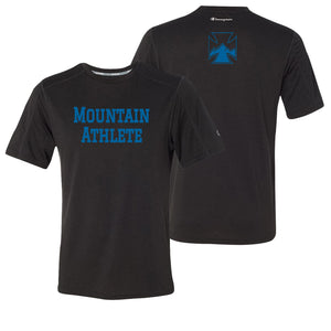 Mountain Athlete - Mens Performance Tee - Black Heather