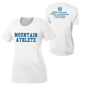 Mountain Athlete DryFit Ladies T-Shirt - White