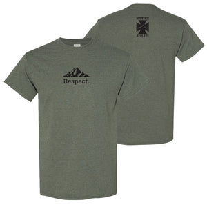 Respect - Heather Military Green