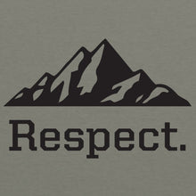 Load image into Gallery viewer, Respect - Heather Military Green