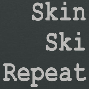 Skin Ski Repeat - Dark Heather