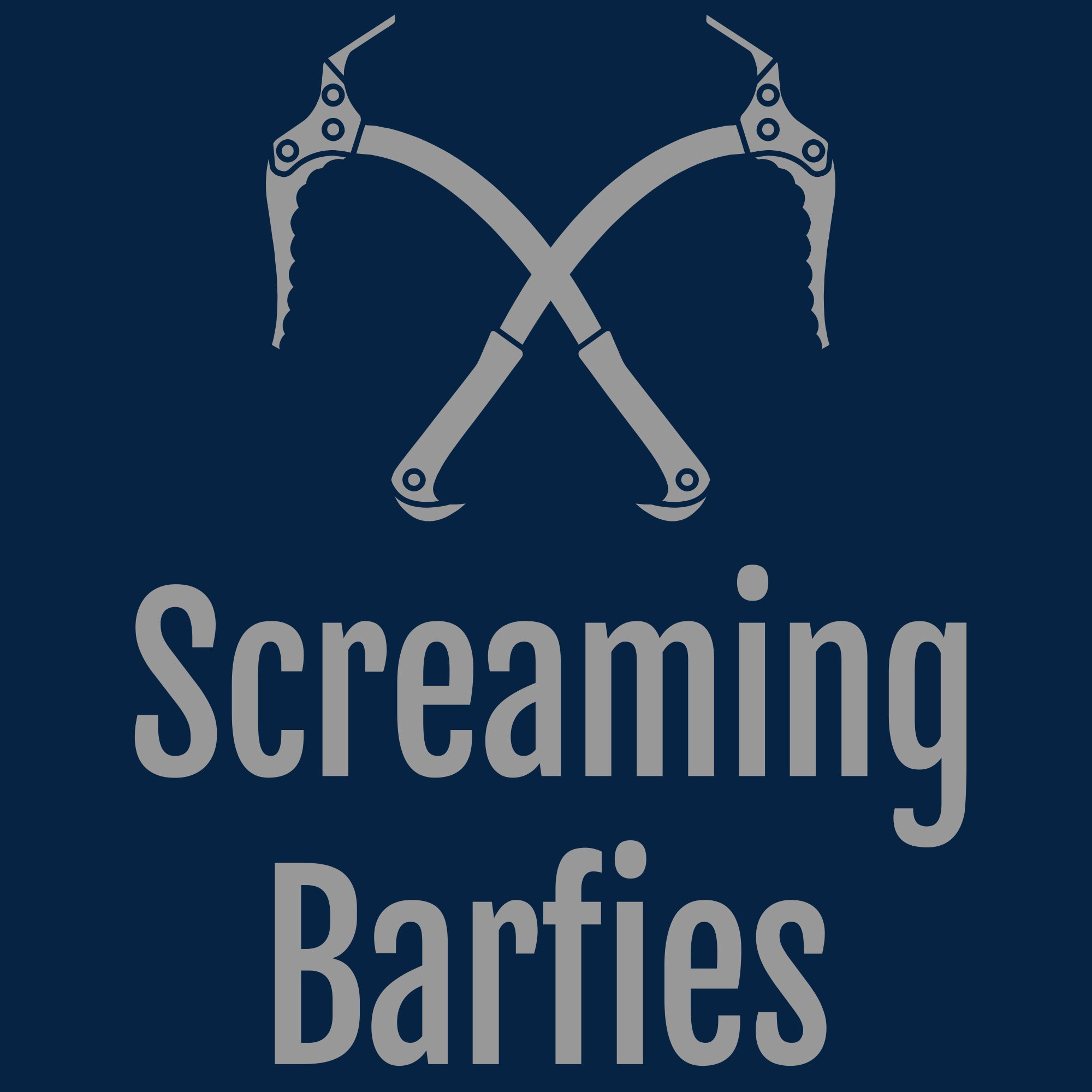 Screaming Barfies - Navy