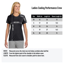 Load image into Gallery viewer, Mountain Athlete - Ladies Performance Tee - Black Heather