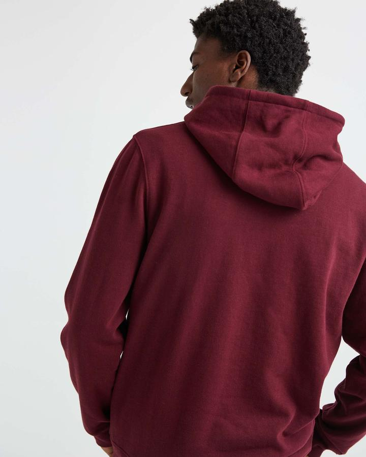 Men's Fleece Pullover Hoodie Fig
