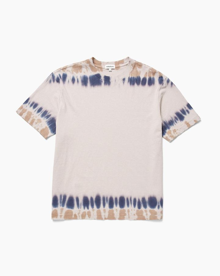 Relaxed Short Sleeve Tee Tie Dye