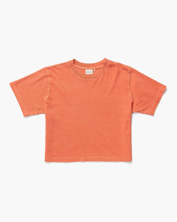 Relaxed Crop Tee Tigerlily
