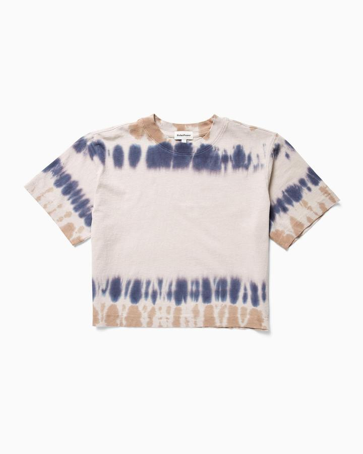 Relaxed SS Crop Tie Dye
