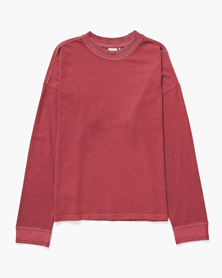 Long Sleeve Pullover Red Velvet