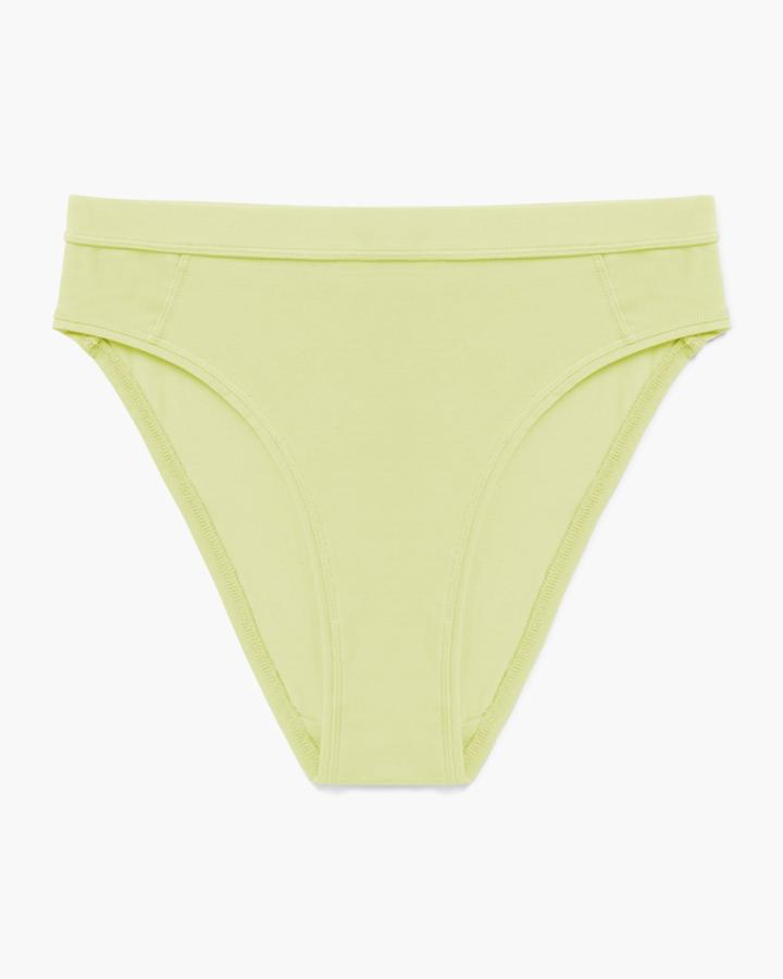 High Cut Brief Pale Green
