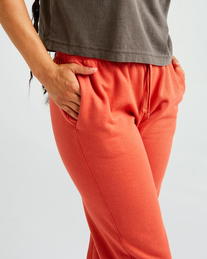 Women's Recycled Fleece Sweatpant Chili Flake