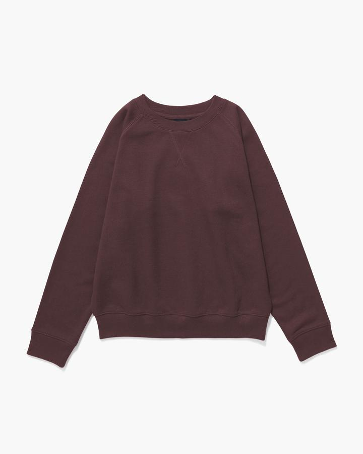 Recycled Fleece Sweatshirt Truffle