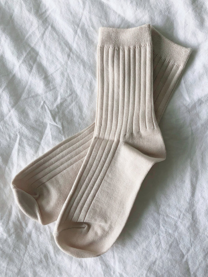 Her Socks (MC Cotton) Porcelain