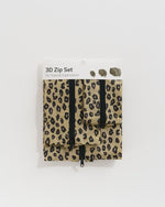 3D Zip Set Honey Leopard