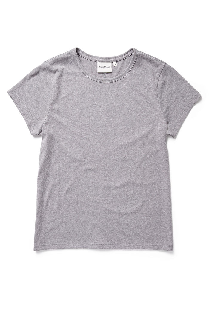 Classic SS Tee Heather Grey