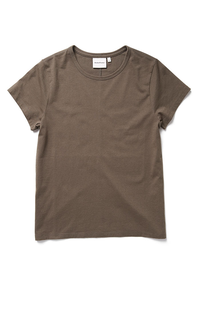 Classic SS Tee Bitter Brown