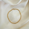 Rose Gypsy Gold Curb Link Bracelet