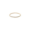 Rose Gypsy Gold Twist Stacker Ring
