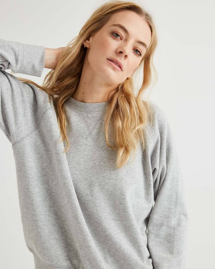 Crew Sweatshirt Heather Grey