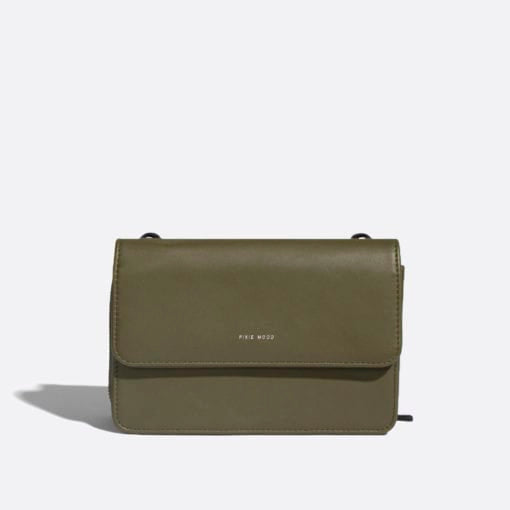 Jane 2 in 1 Wallet Purse Satin Olive
