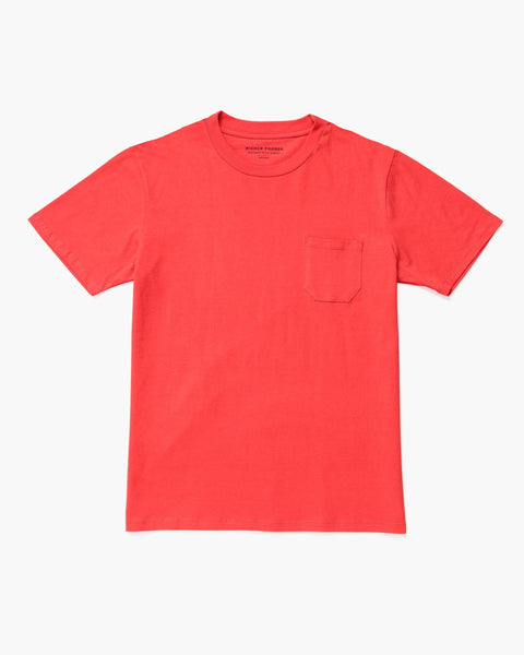 Midweight Crew Tee Red