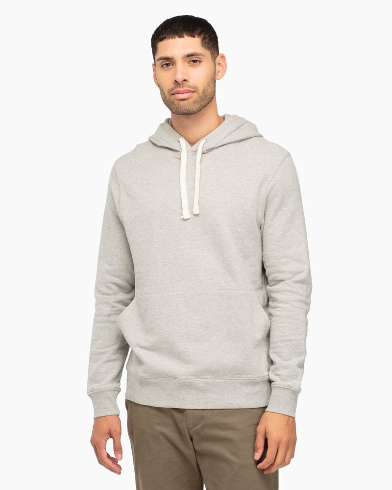 French Terry Pullover Heather Grey